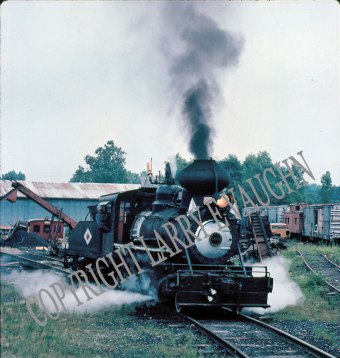 Steam engine with cabbage stack