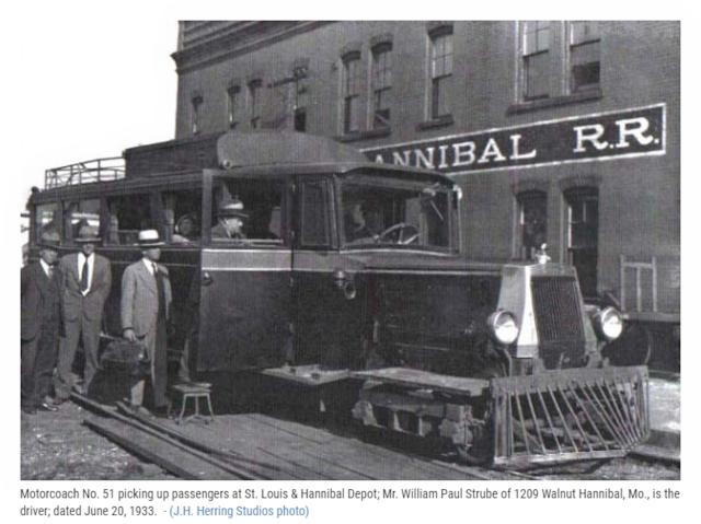 Motorcoach No. 51 at New London MO